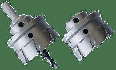 16-30mm HSS Edelstahl Bohrkrone Lochsägen Kernbohrer Lochbohrer für Metall Set