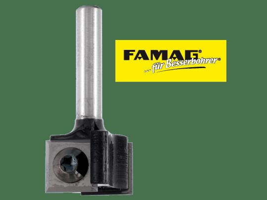 Famag Wendeplatten Nutfräser 3217