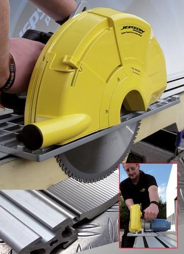 Jepson Super Hand Dry Cutter 8320 Kreissäge Set komplett