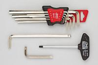 Sechskant-Stiftschlüssel / Winkelschraubendreher / Schraubendreher mit T-Griff