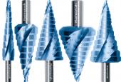 High-Tech Stufenbohrer mit Spirale