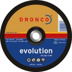 Dronco AS 36 V Perfect - Durchmesser 100,115,125,150,180,230