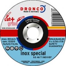 Dronco AS 46 T INOX CUT+GRIND - Durchmesser 115,125,150,180
