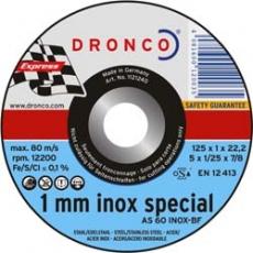Dronco AS 60 INOX 1mm - Durchmesser 115,125