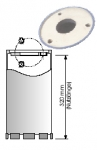 Diamant Bohrkronen System »Elektro« 3 Loch-Flanschanschluss