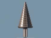 Präzisions - Stufenbohrer 3 mm steigend, gerade genutet