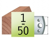 Profilmesser 40 x4 Nr 1-50