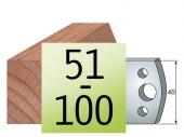 Profilmesser  40 x4 Nr 51-100