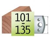 Profilmesser 40 x4 Nr 101-135