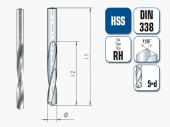 spiralbohrer hss stahl metall. Black Bedroom Furniture Sets. Home Design Ideas