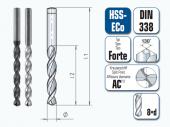HSS-ECo Spiralbohrer. Kurz. DIN 338 Forte
