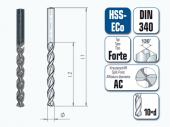 HSS-ECo Spiralbohrer. Lang. DIN 340 Forte