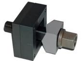 Blechlocher, quadratisch für  VA Material
