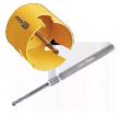 Zubehör für: Click & Drill Pro-Fit Multi Purpose Lochsägen - Schnitttiefe 50mm