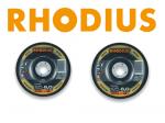 Rhodius Metall-Schruppscheibe für Edelstahl und Stahl