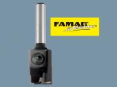 Famag Wendeplatten-Nut- und Bohrfräser 3207