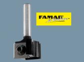 Famag Wendeplatten-Falz- und Bündigfräser 3203