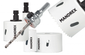 Profi HSS Bi-Metall M42 (8% Cobalt) Lochsäge Mandrex