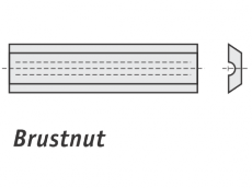 Spezial Wendeschneideplatten Brustnut System LEITZ