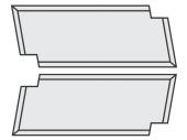 Spezial Wendeschneideplatten Brustnut ohne Bohrung System LEITZ