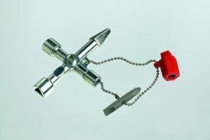 Universalschlüssel Profi-Key aus Zinkdruck- guß mit Kette