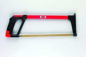 Metallsägebogen mit schwerem Stahlrohrrahmen komplett mit HSS-Metallsägeblatt 300 mm