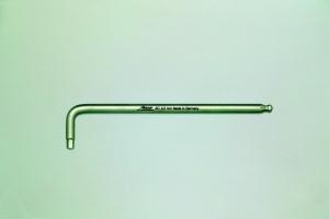 AntiCor Sechskant Stiftschlüssel mit Kugelkopf lange Ausführung