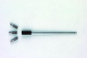 Wechselklinge für Drehmoment-Schraubendreher Magnetbithalter verchromt