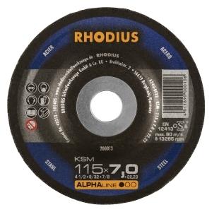 25x Rhodius Ksm Metall Schruppscheibe O115 Mm Dicke 7 Mm