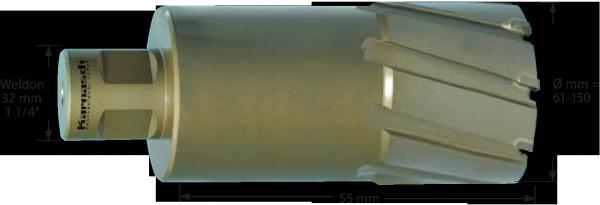 hm kernbohrer 12 mm weldon 19 bis 55mm. Black Bedroom Furniture Sets. Home Design Ideas