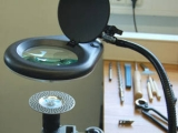 Präzisionsoptik mit Kaltlicht-Beleuchtung