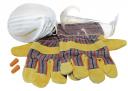 4 tlg. Schutzausrüstung Heimwerker