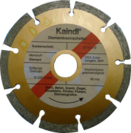 Ø 125 mm Kaindl Diamant-Trennscheibe für Winkelschleifer