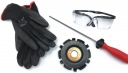 Bayerwald Woodcarverset 115mm Bayerwald Woodcarver Pro Kit - inkl. Feile / Handschuhe / Brille