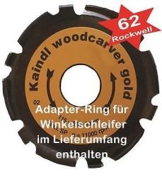 Kaindl Woodcarver Gold für Winkelschleifer 115/125 mm