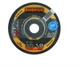1 x Metall Freihand-Trennscheibe Rhodius XT10 125x1.0x22.23