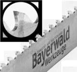 HM Bandsägeblatt  - 3750 x 27 x 0.9 x 3 bestückt - spitzer Zahn