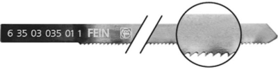 Fein Stichsägeblatt Länge 88/60 mm