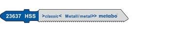Metabo Stichsägeblatt Länge 77/51 mm