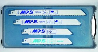 MPS 12tlg. Säbelsägeblatt-Sortiment (Universalschaft)
