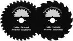 Restposten HM Handkreissägeblätter - absolute Hammerpreise - antihaft beschichtet - diese Blätter sind teilweise in beschädigten Verpackungen und teilweise ohne Kartonverpackung - die Qualität und Schnittgüte ist dadurch nicht beeinflusst!
