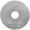 HSS-Metallkreissägeblätter nach DIN 1837 A