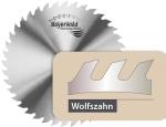 Chrom Stahl (CS) Kreissägeblätter Wolfszahn
